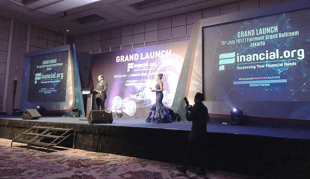 Financial.org Launching in Jakarta 2017