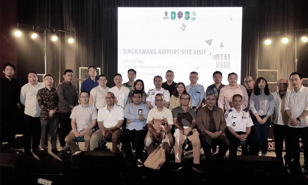 Singkawang Airport Site Visit 2020
